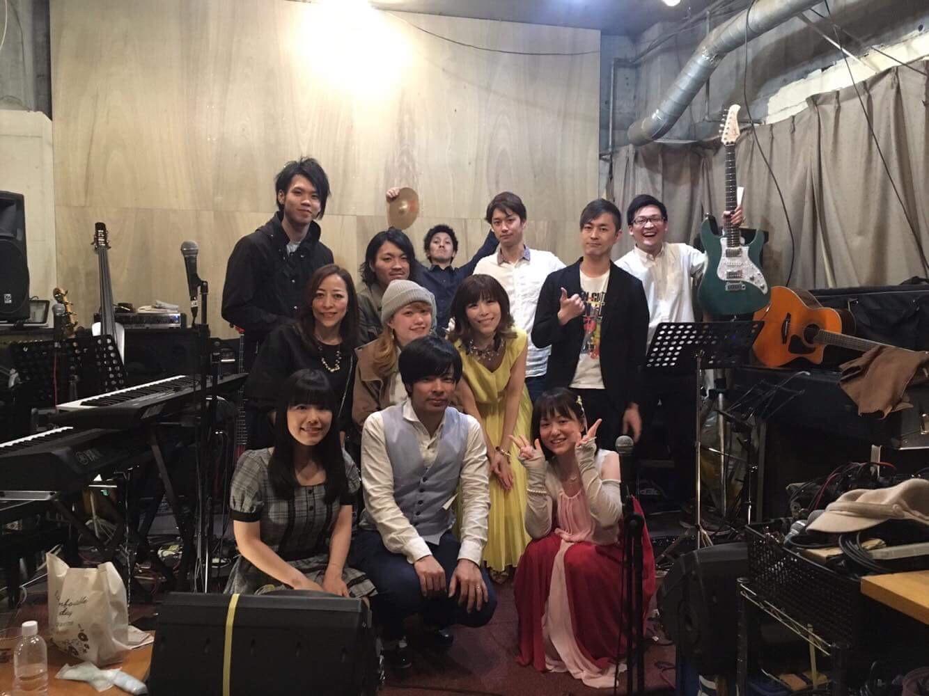 3/17 江坂パインファームでライブでした。