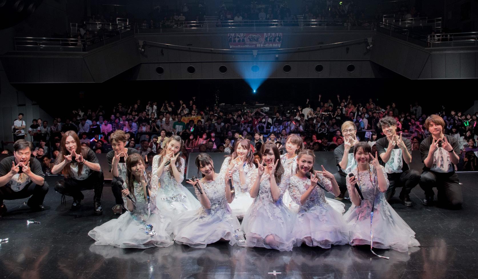 KissBeeWEST 5thONEMAN LIVE@なんばHatch終了!!